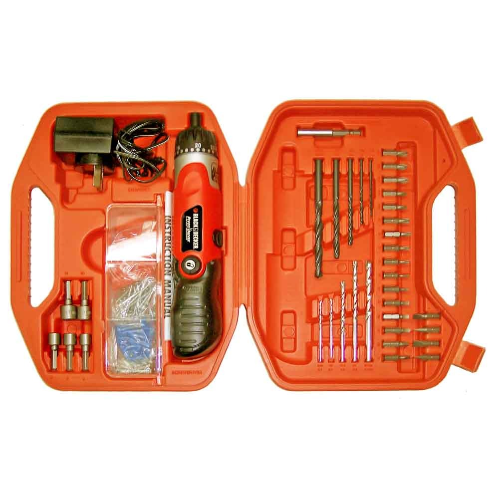 KIT ATORNILLADOR MODELO BD7260 BLACK AND DECKER